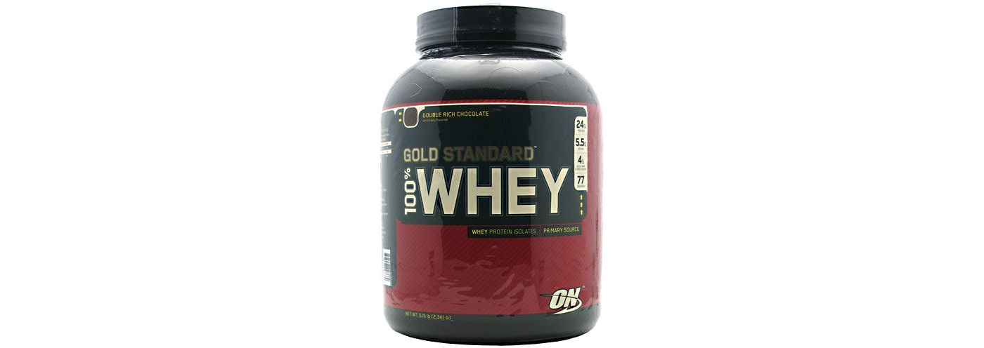 Optimum Nutrition 100% Whey Gold Standard Double Rich Chocolate 5 lbs