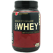 Optimum Nutrition 100% Whey Gold Standard Strawberry 2 lbs