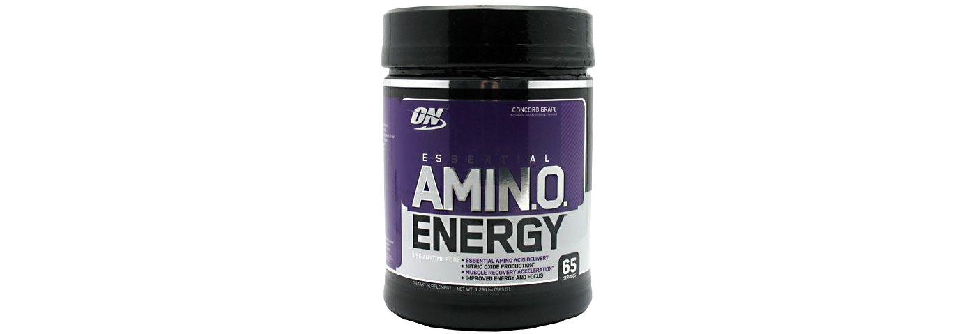 Optimum Nutrition Essential Amino Energy Grape 65 Servings
