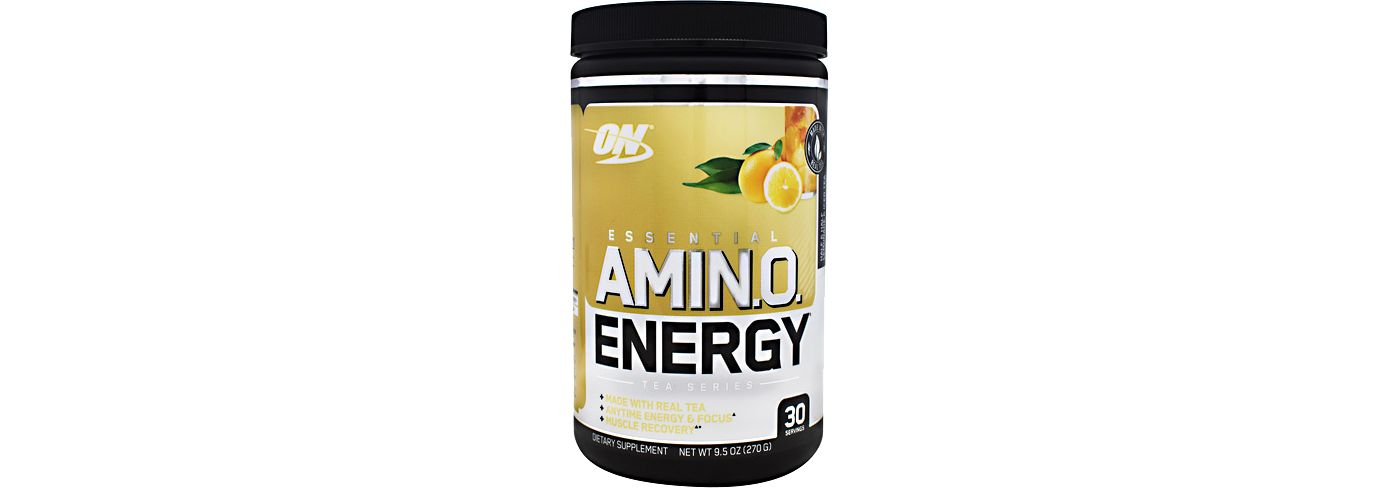 Optimum Nutrition Essential Amino Energy Half & Half Lemonade Iced Tea 30 Servings