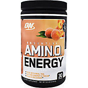 Optimum Nutrition Essential Amino Energy White Peach Tea 30 Servings