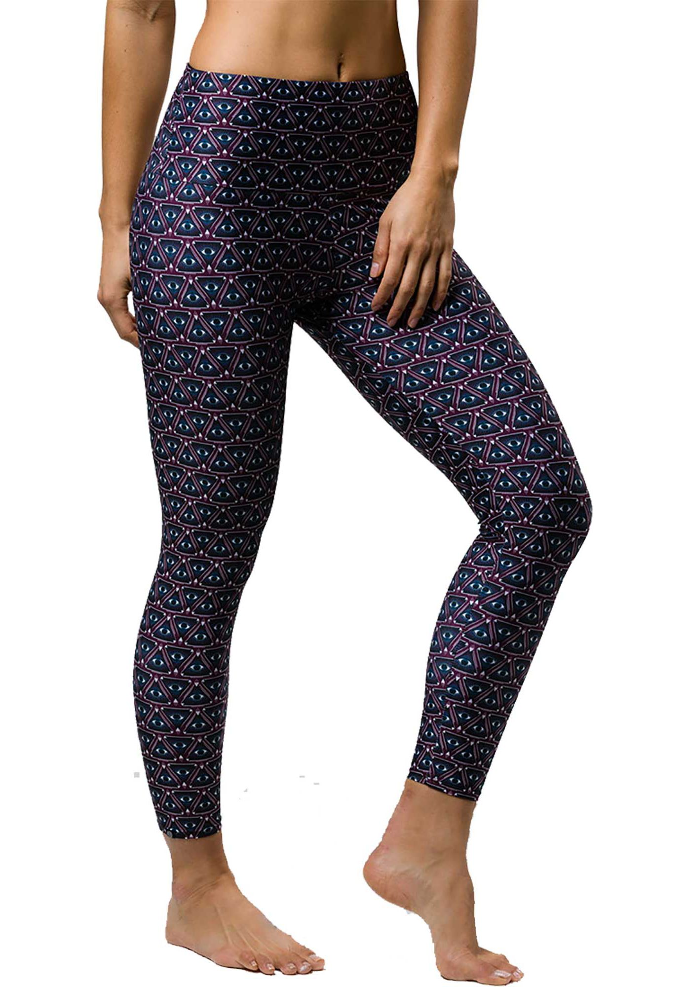 Onzie Women's High Rise Printed Midi 7/8 Leggings