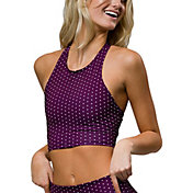 Onzie Women's Peek-a-Boo Racer Back Sports Bra