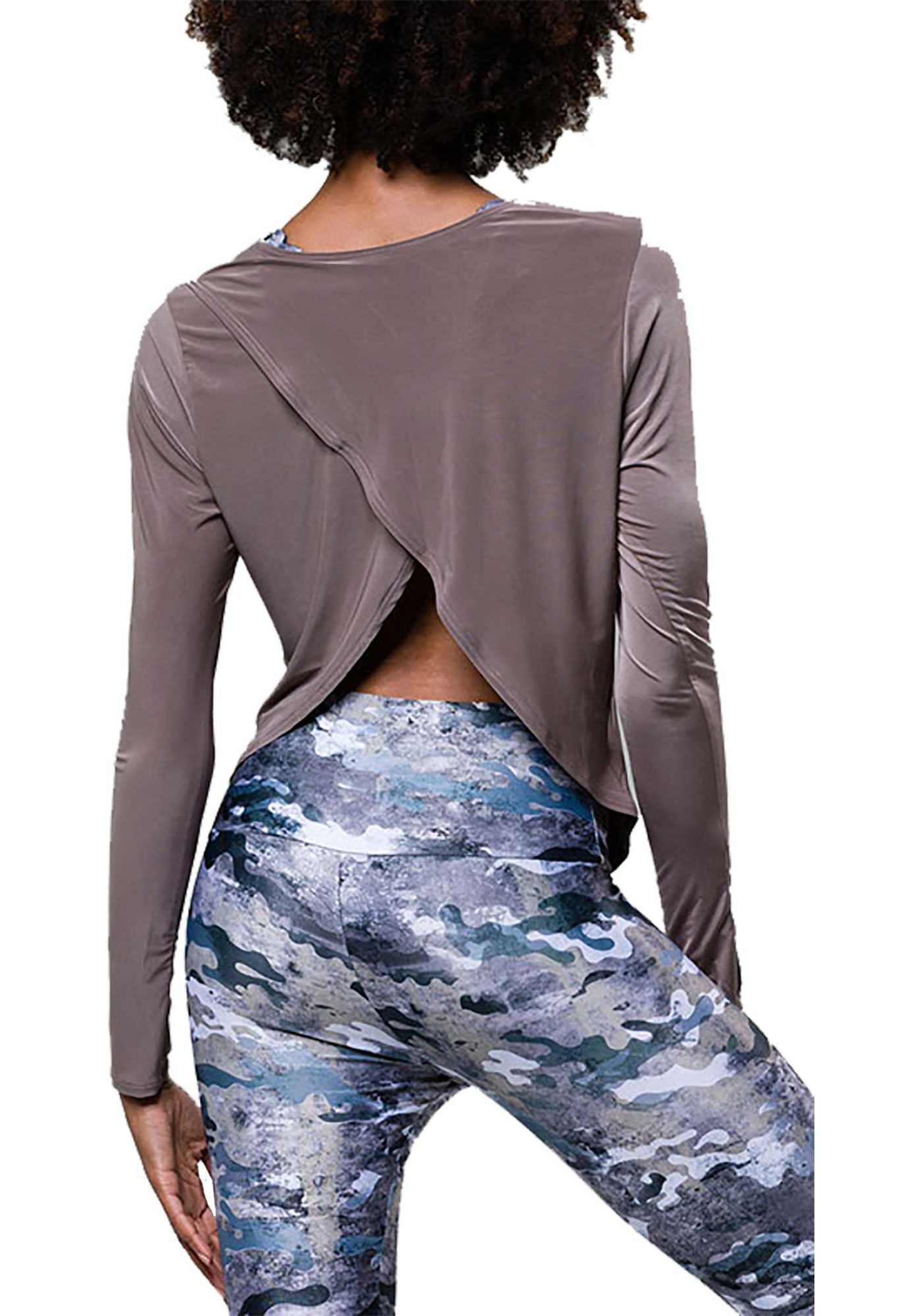 Onzie Women's Tulip Back Long Sleeve Shirt