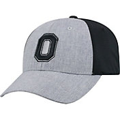 OSU Men's Ohio State Buckeyes Grey/Black Faboo 1Fit Hat