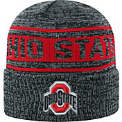 72754972 Product Image · OSU Men's Ohio State Buckeyes Sockit To Me Grey Knit Beanie