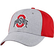 OSU Men's Ohio State Buckeyes Gray/Scarlet Faboo 1Fit Hat