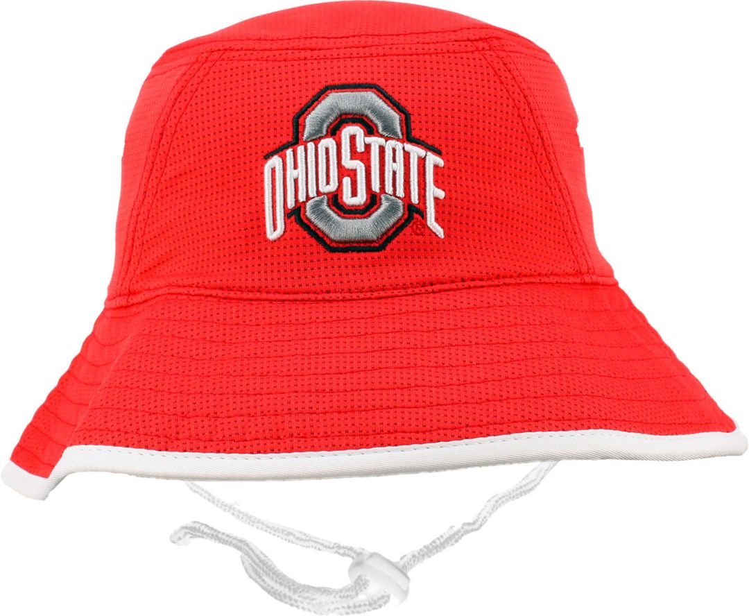 19e76db743a OSU Men s Ohio State Buckeyes Scarlet Bucket Hat 1