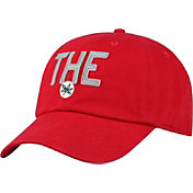 OSU Men's Ohio State Buckeyes Scarlet District Adjustable Hat