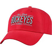 OSU Men's Ohio State Buckeyes Scarlet Lockers Adjustable Hat
