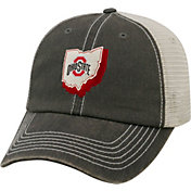 Top of the World Men's Ohio State Buckeyes Gray United Adjustable Snapback Hat