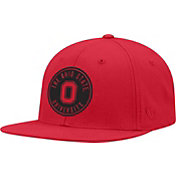 OSU Men's Ohio State Buckeyes Scarlet Timey Adjustable Hat