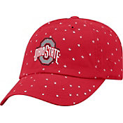 OSU Women's Ohio State Buckeyes Scarlet Starlite Adjustable Hat