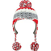 Top of the World Youth Ohio State Buckeyes Scarlet/Gray Boppy Knit Hat