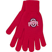OSU Women's Ohio State Buckeyes Scarlet Open Knit Gloves