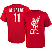 adidas Youth Liverpool Mohamed Salah #11 Red Player Tee