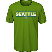 adidas Youth Seattle Sounders Dassler City Green T-Shirt