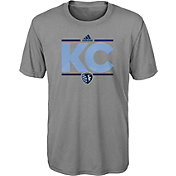 adidas Youth Sporting Kansas City Dassler City Grey T-Shirt