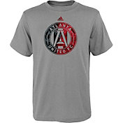 adidas Youth Atlanta United Tactic Heather Grey T-Shirt