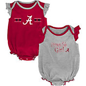 Outerstuff Infant Alabama Crimson Tide Crimson/Grey Homecoming 2-Piece Onesie Set