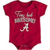 Outerstuff Newborn Alabama Crimson Tide Crimson Awesome Script Onesie