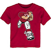 Outerstuff Toddler Alabama Crimson Tide Crimson Football Dreams T-Shirt