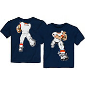 Gen2 Toddler Auburn Tigers Blue Football Dreams T-Shirt