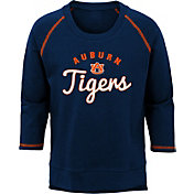 Outerstuff Youth Girls' Auburn Tigers Blue Overthrow Long Sleeve T-Shirt