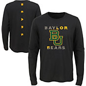 Gen2 Youth Baylor Bears Ultra Long Sleeve Black T-Shirt