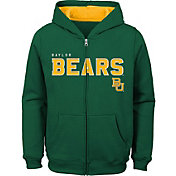 Gen2 Youth Baylor Bears Green Full-Zip Fleece Hoodie
