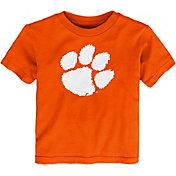 Outerstuff Toddler Clemson Tigers Orange Standing Mascot T-Shirt