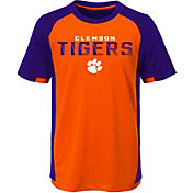 Outerstuff Youth Clemson Tigers Orange/Regalia Circuit Breaker Performance T-Shirt