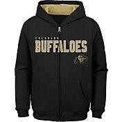 Outerstuff Youth Colorado Buffaloes Full-Zip Fleece Black Hoodie