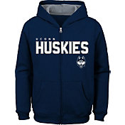 Outerstuff Youth UConn Huskies Blue Full-Zip Fleece Hoodie