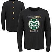 Gen2 Youth Colorado State Rams Ultra Long Sleeve Black T-Shirt