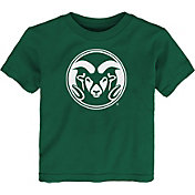 Outerstuff Toddler Colorado State Rams Green Standing Mascot T-Shirt