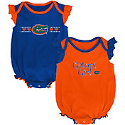 Outerstuff Infant Florida Gators Blue/Orange Homecoming 2-Piece Onesie Set