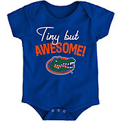 Outerstuff Newborn Florida Gators Blue Awesome Script Onesie