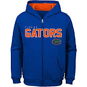 Outerstuff Youth Florida Gators Blue Full-Zip Fleece Hoodie