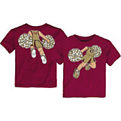 Gen2 Toddler Florida State Seminoles Garnet Pom Pom Cheer T-Shirt