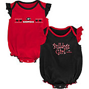 Outerstuff Infant Georgia Bulldogs Red/Black Homecoming 2-Piece Onesie Set
