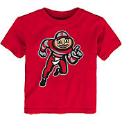 Outerstuff Toddler Ohio State Buckeyes Scarlet Standing Mascot T-Shirt