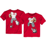 Gen2 Toddler Ohio State Buckeyes Scarlet Football Dreams T-Shirt