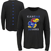 Gen2 Youth Kansas Jayhawks Ultra Long Sleeve Black T-Shirt