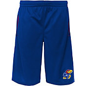 Outerstuff Youth Kansas Jayhawks Blue Vector Performance Shorts