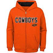 Outerstuff Youth Oklahoma State Cowboys Orange Full-Zip Fleece Hoodie