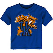 Outerstuff Toddler Kentucky Wildcats Blue Standing Mascot T-Shirt