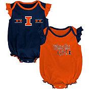 Outerstuff Infant Illinois Fighting Illini Blue/Orange Homecoming 2-Piece Onesie Set