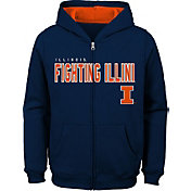 Gen2 Youth Illinois Fighting Illini Blue Full-Zip Fleece Hoodie