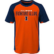 Gen2 Youth Illinois Fighting Illini Orange/Blue Circuit Breaker Performance T-Shirt